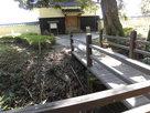 板敷櫓前の堀と木橋