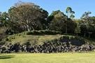 本城曲輪(本丸)の石垣…