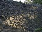 井戸曲輪の石垣…