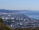 小田原城を望む…