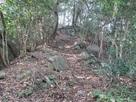 土塁の石積