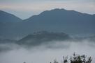 立雲峡より雲海に浮かぶ竹田城…