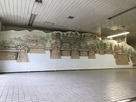 JR三原駅構内の三原城天守跡入り口にある…