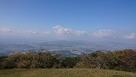山頂からの展望…