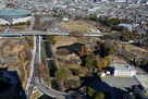 群馬県庁展望台から前橋城全景を望む…