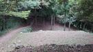 二の丸から見た温井屋敷跡…