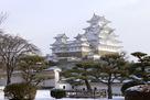 冬の姫路城