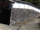 神社下の石垣