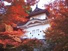 東隅櫓と紅葉