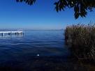 石垣は湖の底