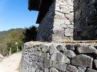 物見櫓下の石垣