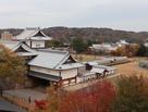 戌亥櫓台からの眺め…