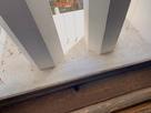 窓の敷居の排水口 @大天守…
