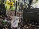 登山口の防獣柵・電気柵…