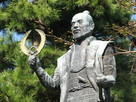 若き日の徳川家康公像…