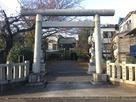 日月神社、正面入口…