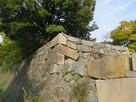 二の丸西鉄門北側の多聞櫓台の石垣(土橋よ…