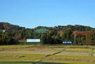 新幹線からの風景…