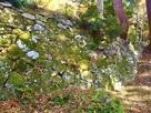 城塞化された石垣…