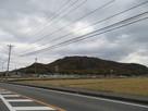 西側麓から備中福山城・幸山城…