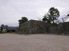 天守台石垣と鯱の門・続櫓…