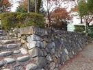 本丸 弓矢櫓から天守閣に向かっての石垣…