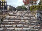 本丸 弓矢櫓跡の石段…