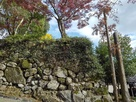 御成櫓跡の石垣…