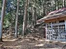 常盤神社と愛宕神社への登り口…