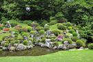 5月中旬の龍潭寺 さつきの庭園…
