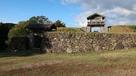 本丸門と石垣