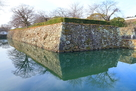 喜斎門跡付近と東面の石垣…