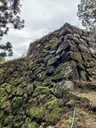 本丸埋門の石垣 左側…