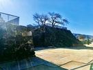 北不明門外から見た戌亥櫓台
