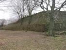 西の丸北側石垣…