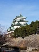 南西隅櫓より名古屋城…