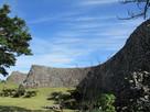 平郎門から伸びる城壁…