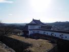 津山城 天守台から備中櫓…
