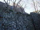 津山城 腰巻櫓の石垣…