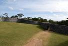 城壁の上から見た二の郭…