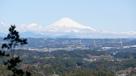 本丸跡から見えた富士山…