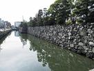 徳島城 堀と石垣