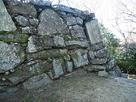 徳島城 弓櫓の石垣…