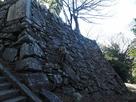 徳島城 弓櫓の石垣
