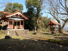 本丸跡の松尾崎神社…