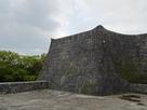 歓会門の石垣