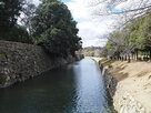 姫路城 堀と石垣…