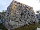 三の丸北側隅櫓台石垣…