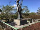 阿部正弘の銅像…