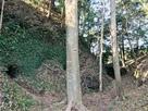 空堀と防空壕